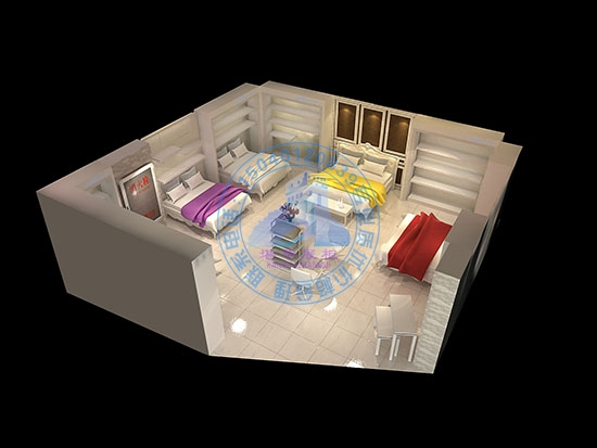 家具展柜安装电路图